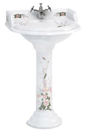 Burlington Classic English Garden Rectangular Basin