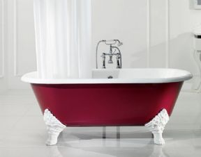 Sanitan Mark Anthony Freestanding Cast Iron Bath
