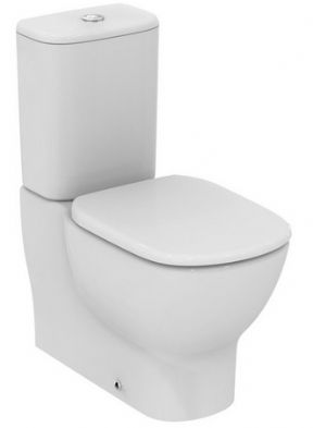 Ideal Standard Tesi Close Coupled Back To Wall WC