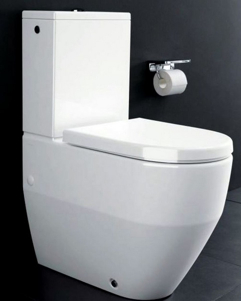 Laufen Pro Close Coupled Back To Wall WC - Nationwide Bathrooms