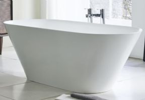 Clearwater Sontuoso Clear Stone Freestanding Bath