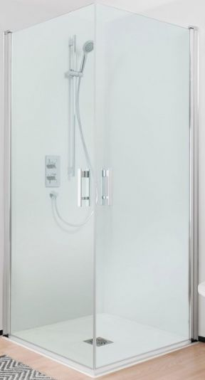 Simpsons Click Easy Access Double Hinged Door